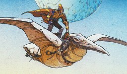 The Moebius Bird Rider